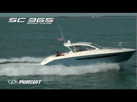 Pursuit Boats SC 365i Running Video