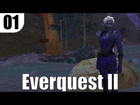 Let's Play Everquest 2 ep1 – New Necromancer