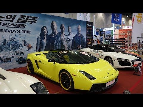 SEOUL Motor Show 2017 - 4K