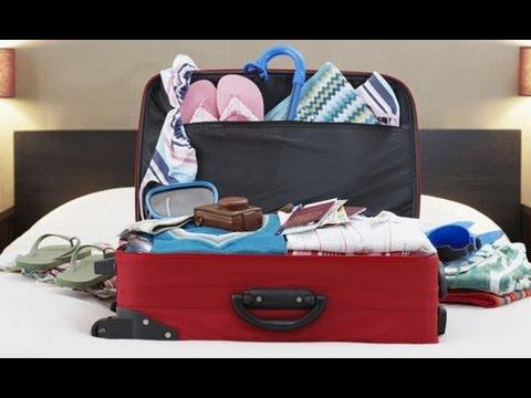 Как упаковать чемодан в отпуск, советы / Packing like a pro