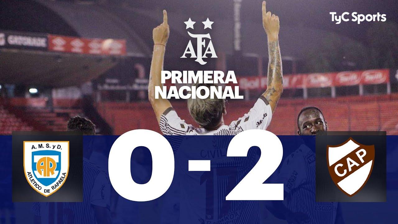 Atlético Rafaela 0-2 Platense | Primera Nacional