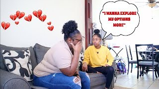 I DON'T WANT TO BE WITH YOU ANYMORE PRANK ON GIRLFRIEND (SHE CRIES)