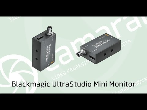 Alquila En Camaralia Blackmagic Ultrastudio Mini Monitor Youtube