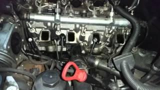 Заміна свічок розжарювання на BMW X3 2.0 D