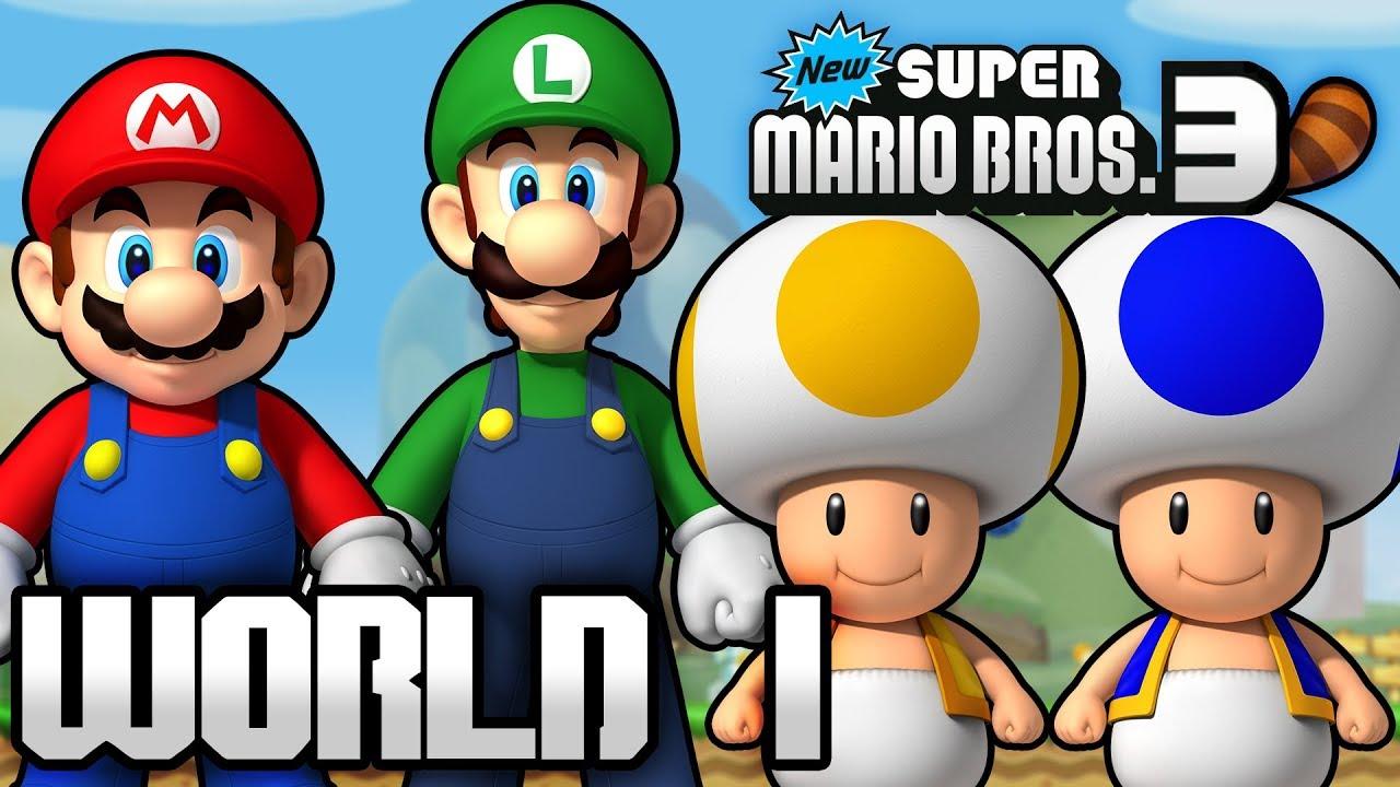 World Super New 3 Mario