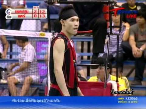 2011 Sepak Takraw Thailand League ''Nakhon Pathom Vs Phrae 6 of 6