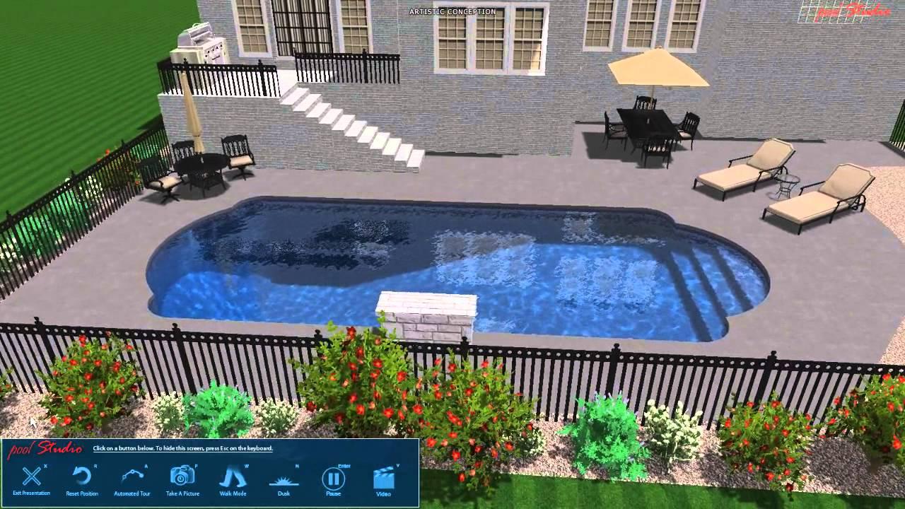 joe mac pool studio 3d swimming pool design youtube