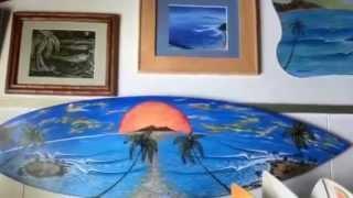 Surf Art San Clemente Surfboards Paul Carter