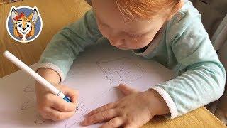 урок рисования с ребенком 2 года 6 месяцев