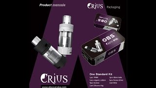 Updated Crius RTA by OBS with 316SS Build and Wicking