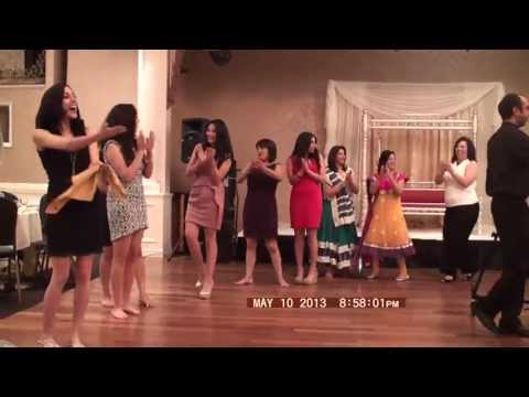 Palestine Dance at Sheil and Haneen's Welcome Dinner Party