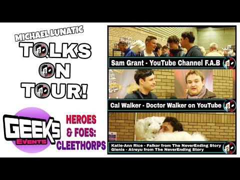 Sam, Channel F.A.B | Cal, Doctor Walker | Katie-Ann, Glenis, NeverEnding Story TOT