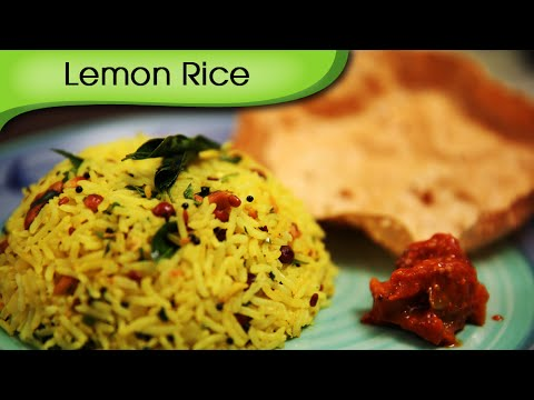 Lemon Rice - Quick And Easy South Indian Rice Recipe By Ruchi Bharani