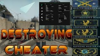 Destroying a Blatant CHEATER in Solo Queue (Fastest Sniper) EP:72