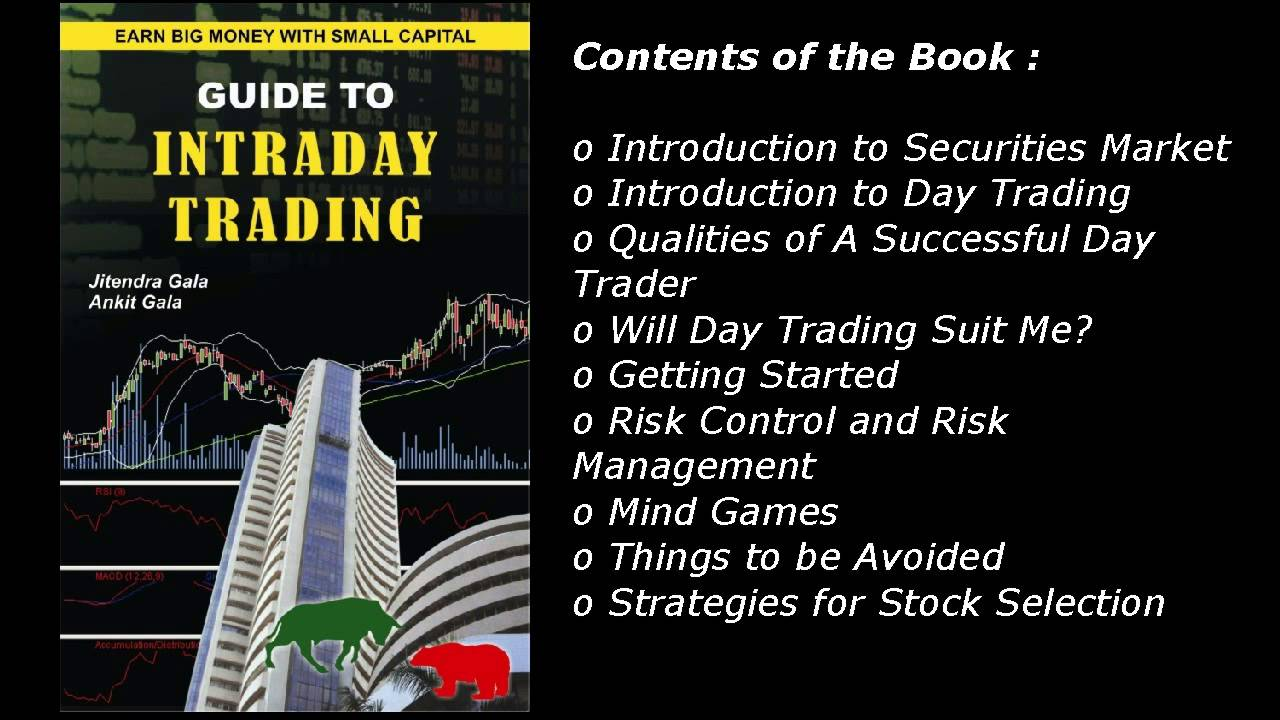 Guide To Intraday Trading Book By Ankit Gala Jitendra Gala Youtube