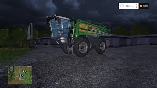 Lets Play Farming Simulator 2015 (PS4) | DIARY DAY 62 | NEW CROP SPRAYER