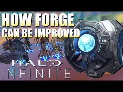 How Forge Can Be Improved In Halo Infinite (AI Spawning, Etc.)