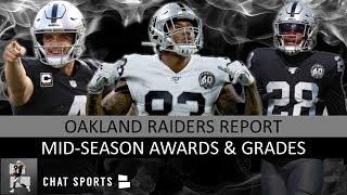 Raiders Grades & Midseason Awards - Oakland's 2019 MVP Is Josh Jacobs, Derek Carr Or Darren Waller?