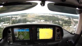 Cirrus SR20GTS landing at KPAE Paine Field