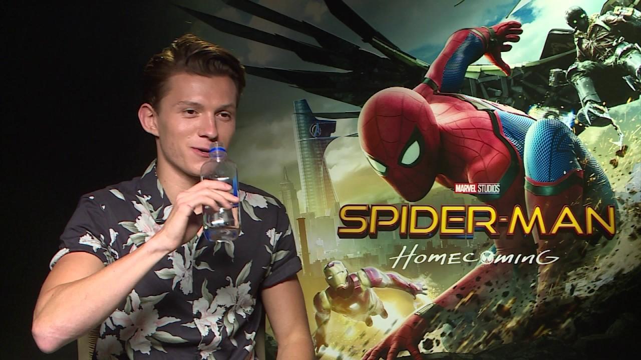 Resultado de imagem para tom holland interview spiderman