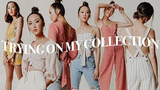 My Clothing Collection Reveal ✨ Haul  + Try on | Chriselle Lim