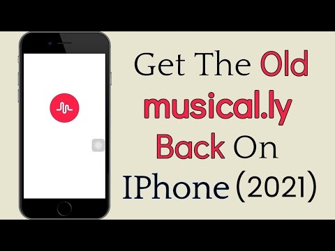 How To Get The Old Musically Back (2019) || Go Back To