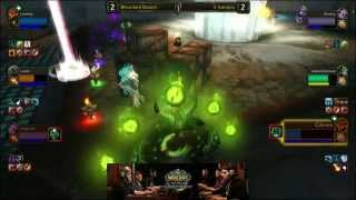 3 Amigos vs. Bleached Bones - Semi-finals - WoW Arena World Championship 2014