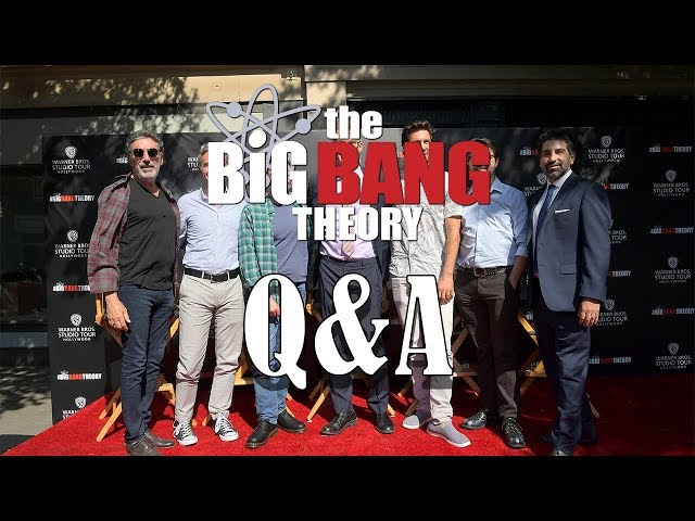 The Big Bang Theory cast and crew Q&A
