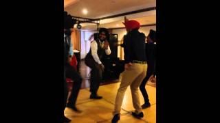 punjabi wedding dance bhangra on dj