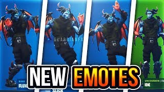 Fortnite - ALL LEAKED EMOTES in PATCH v7.20! [Flux, Slick, Whirlwind, IDK]