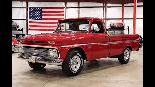 1966 Chevy C10 red
