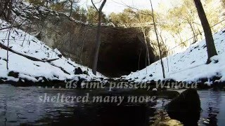 Smallin Civil War Cave: Winter Scenes