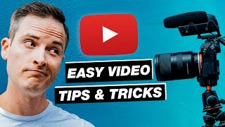 10 Easy Ways to Make BETTER VIDEOS!