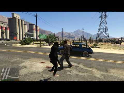 BADASS MONKEY FIST FIGHT GTA V MODES!1