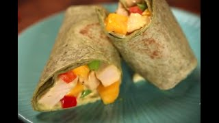 MIRACLE WHIP Mango-Chicken Salad Wraps Thumbnail