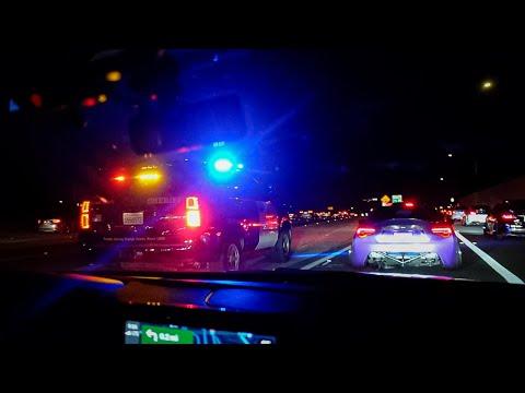 Hilarious Cops ROASTS V6 Mustangs and Shuts Down 1000 Car Meet