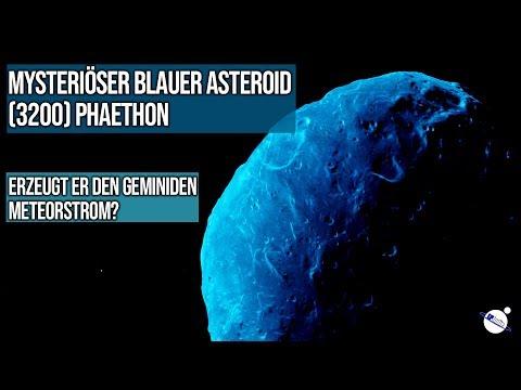 Mysteriöser blauer Asteroid (3200) Phaethon - Erzeugt den Geminiden Meteorstrom?