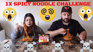 EXTREME SPICY RAMEN CHALLENGE (1X SPICY)!!! (DO NOT TRY THIS AT HOME)
