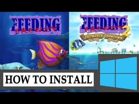 How To Run Feeding Frenzy 1 & 2 In Windows 10/8.1/8/7/XP (Easy WAY)