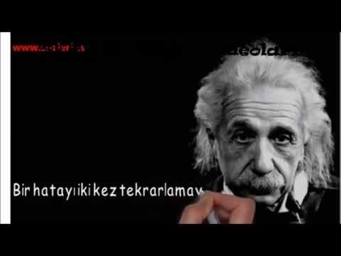 Albert Einstein'ın Hayatınızı Değiştirecek Sözler ( Bonus Video )