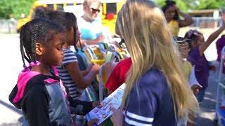 Free books with Buford the Book Bus