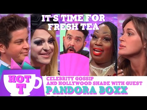 Hey Qween HOT T: Celebrity Gossip & Hollywood Shade with Special Guest Pandora Boxx