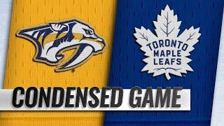 01/07/19 Condensed Game: Predators @ Maple Leafs