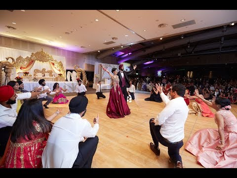 Australia's Biggest Indian Wedding Reception –Amazing Friends Bollywood & Punjabi Group Dance Medley