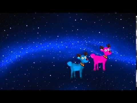 Trotte trotte renne rose - Les enfants de Noël