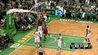 Jrue Holiday Andre Iguodala combined 31 pts vs Boston Celtics full highlights NBA Playoffs 2012 GM2