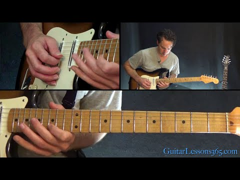The Number of the Beast Guitar Lesson (Solos) - Iron Maiden
