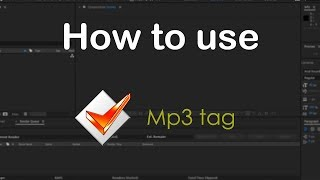 How to use Mp3 tag | How to use this | Mister Jii
