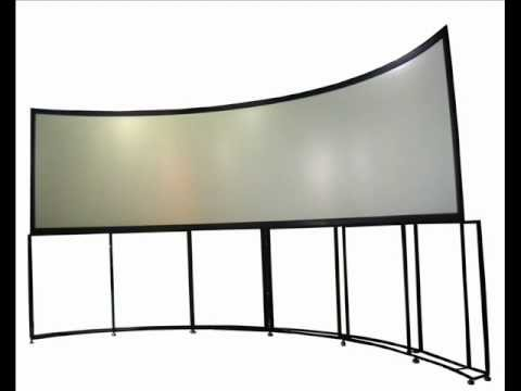 ICE AV Large Format Blended Projection Screens and Software