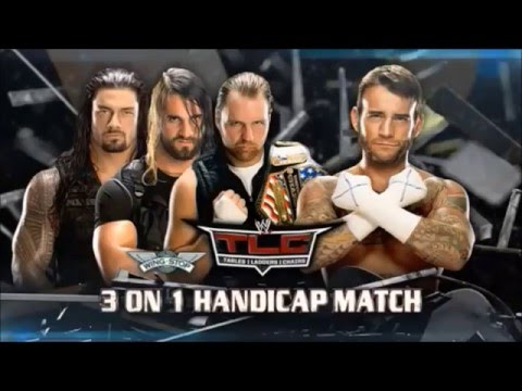 WWE TLC 2013 Highlights HD